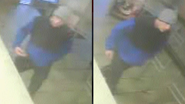 Police said this man tried to rob a cashier at a Greenville fast food restaurant. (Jan. 25, 2013/Greenville Police Dept.)