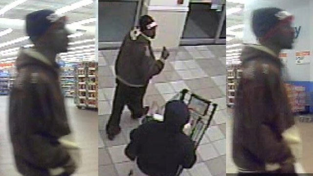 Bi-Lo store surveillance of the man deputies say used the stolen cards. (Greenville Co. Sheriff's Office)