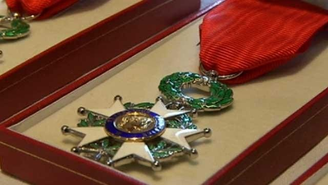 The Legion of Honor medal is France's highest military award. (File/FOX Carolina)