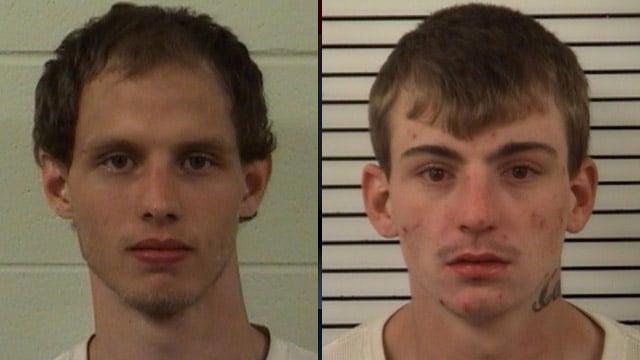 Jonathan Motte (left) and Joseph Norton (Madison Co. Sheriff's Office)