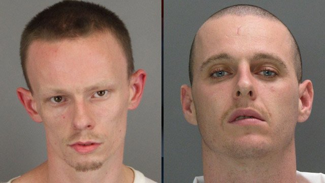 Joshua Tessnear (left) and Adam Moore. (Solicitor's Office/Dept. of Corrections)