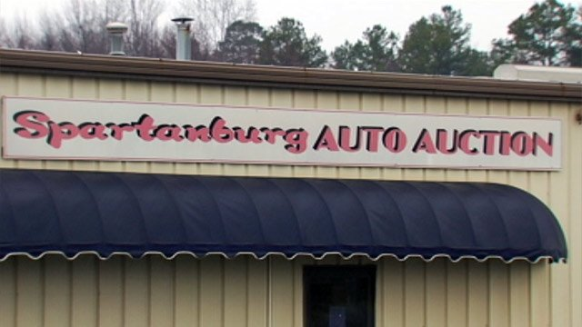 Spartanburg Auto Auction is located off Asheville Highway. (Feb. 7, 2013/FOX Carolina)