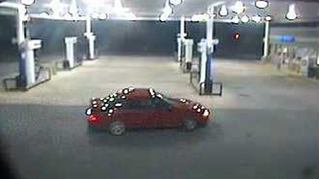 Deputies say the suspect drove away in this car. (Anderson Co. Sheriff's Office)
