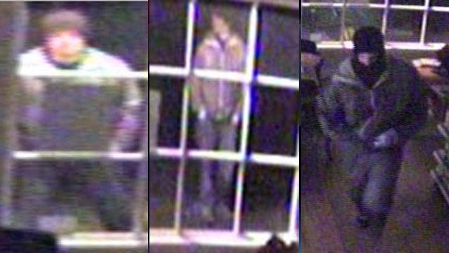 Surveillance from the Blue Ridge Pharmacy burglaries. (Asheville Police Dept.)
