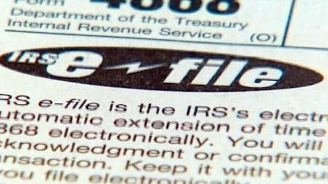 One of several types of documents used to file income tax with the Internal Revenue Service. (File/FOX Carolina)
