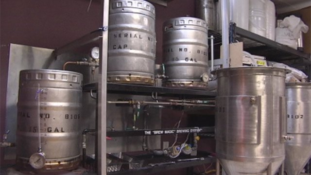 Grape and Grains plans to expand its brewery in the west end of Greenville. (Feb. 12, 2013/FOX Carolina)