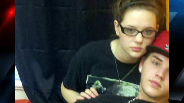Alexis Messex and her boyfriend, Benji Miller are seen in this undated photograph. (Anderson Co. Sheriff's Office)