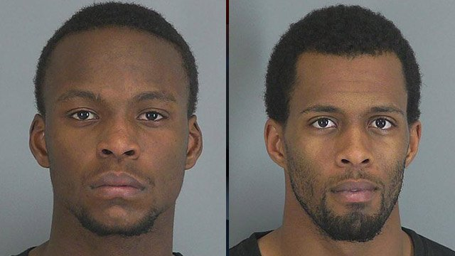 Tevin Thomas and Monquez Fowler (Spartanburg Police Dept.)