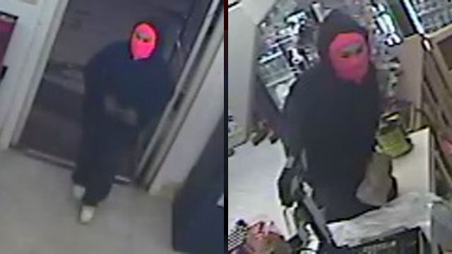 Police say this women used a knife to rob a convenience store in Canton. (Feb. 13, 2013/FOX Carolina)