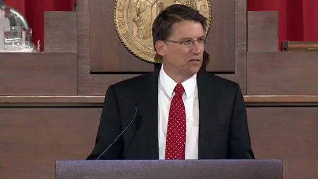 North Carolina Gov. Pat McCrory delivers his first State of the State address. (Feb. 18, 2013/UNCTV)