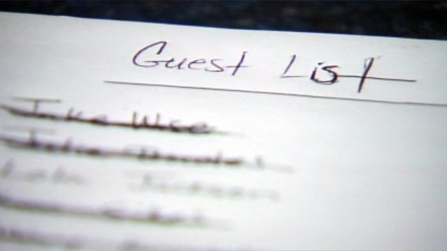 An Upstate bride's guest list. (Feb. 19, 2013/FOX Carolina)