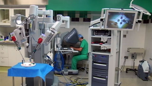 A doctor works in the Institute for Translational Oncology Research at Greenville Hospital System. (File/FOX Carolina)