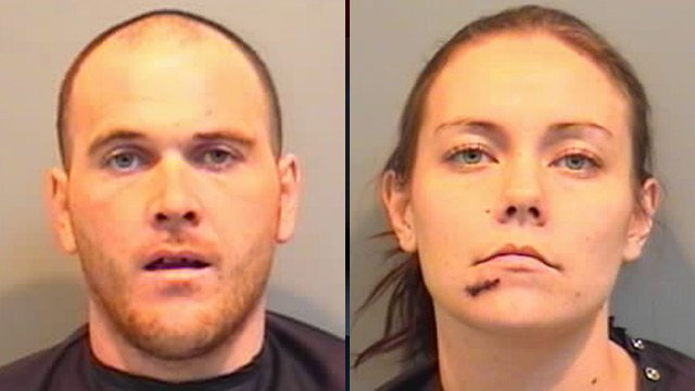 Thomas Campbell (left) and Anna Sanders. (Union Co. Sheriff's Office)