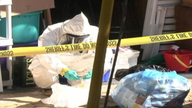 Hazmat crews clean up an Upstate meth lab. (File/FOX Carolina)