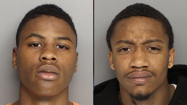 Javon Mack (left) and Michael Lee (Greenville Police Dept.)