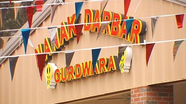 The Gurdwara Nanak Darbar temple is located on Harrison Road in Duncan. (Feb. 22, 2013/FOX Carolina)