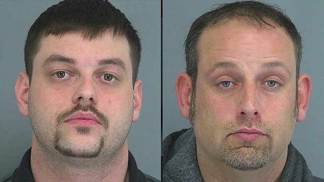 John Neal (left) and Samuel Smith. (Spartanburg Co. Detention Center)