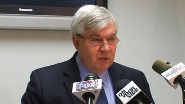 Greenville Co. Sheriff Steve Loftis talks about recent homicides in the county. (Feb. 27, 2013/FOX Carolina)