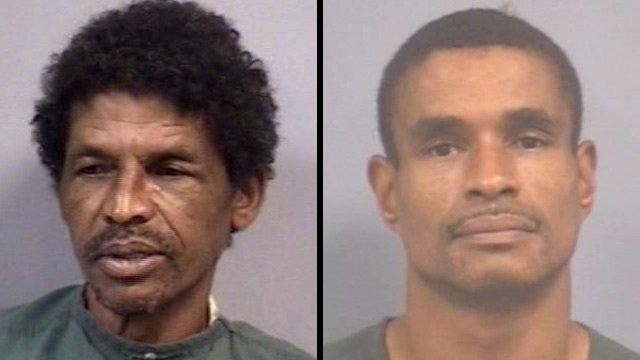 """Walter """"Tom"""" Hawkins Jr. (left) and Daryl Richburg. (Newberry Co. Sheriff's Office)"""