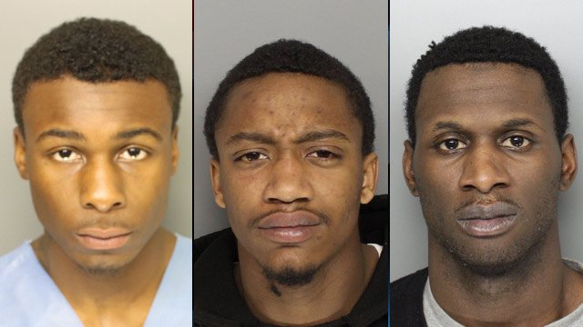 From left to right: Marquis Blassingame, Michael Lee and Ali Alatif. (Greenville Co. Sheriff's Office)