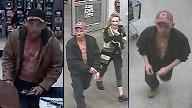 Deputies hope someone can identify these people accused in the counterfeit check cashing ring. (Spartanburg Co. Sheriff's Office)