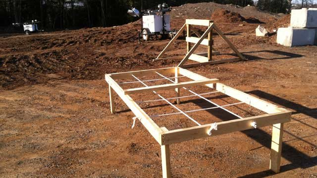 Some of the obstacles that may be used for Mud Mania. (Mar. 7, 2013/FOX Carolina)