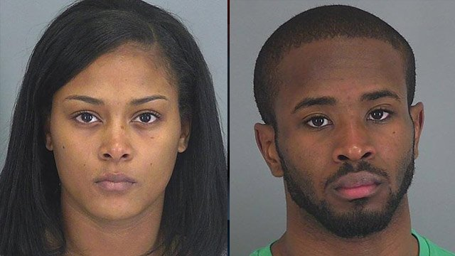 Ashley Watkins (left) and Kashif Hamilton (Spartanburg Co. Detention Center)