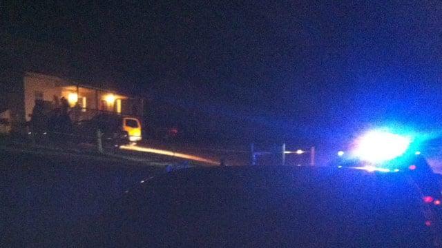 Deputies search for gunmen after man shot outside of his home. (Mar. 8, 2013/FOX Carolina)