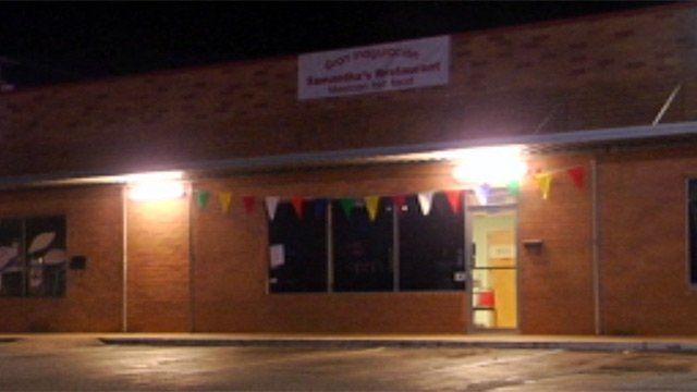 Samantha's Restaurant is located on East North Street near Pelham Road. (Mar. 12, 2013/FOX Carolina)
