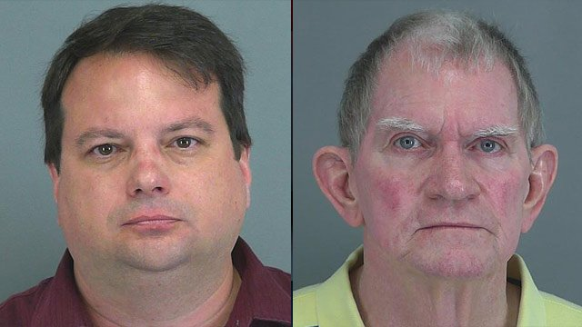 Scott Pruitt (left) and Johnny Duncan. (Spartanburg Co. Detention Center)