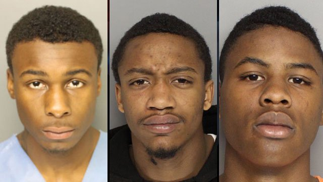 From left to right: Marquis Blassingame, Michael Lee and Javon Mack (Greenville Co. Sheriff's Office/Greenville Police Dept.)