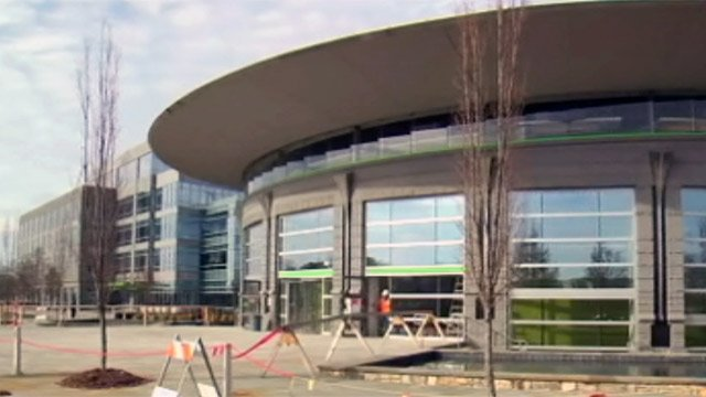 The new Greenville hub for TD Bank is completed. (File/FOX Carolina)