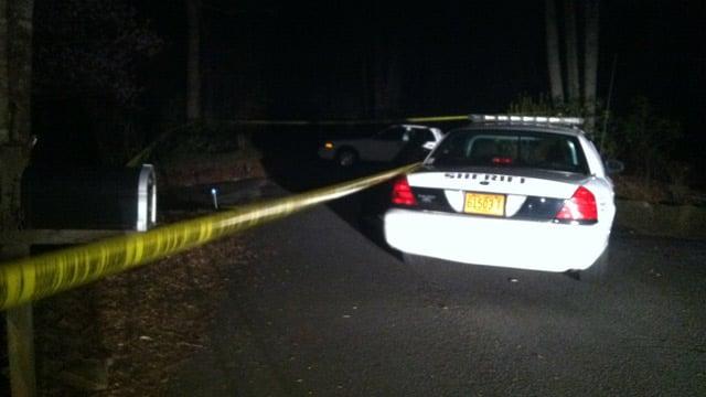Deputies find the gunshot victims at the Oak Ridge Road home near Brevard. (Mar. 17, 2013/FOX Carolina)