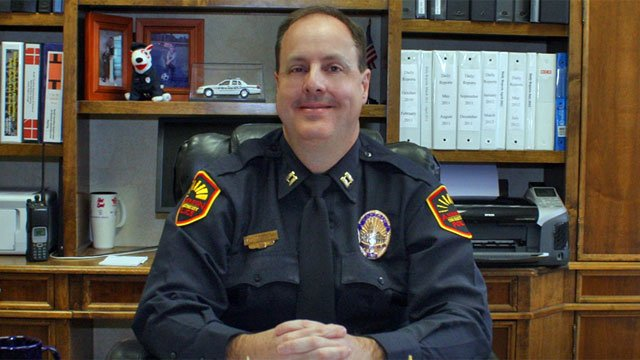 Anderson Police Chief Jim Stewart (Source: Anderson Police Dept.)