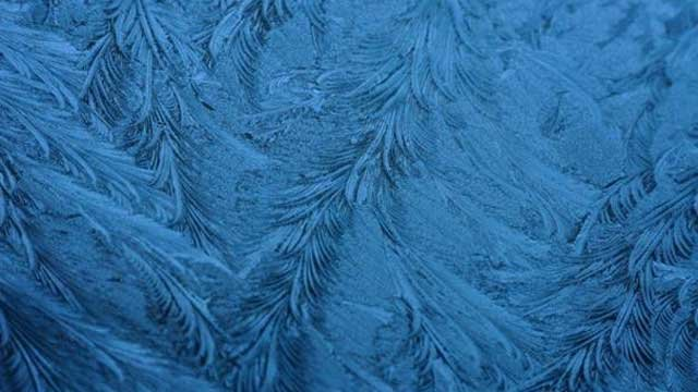 Frost forms on the windshield of a car. (FOX Carolina iWitness Falcon2473)
