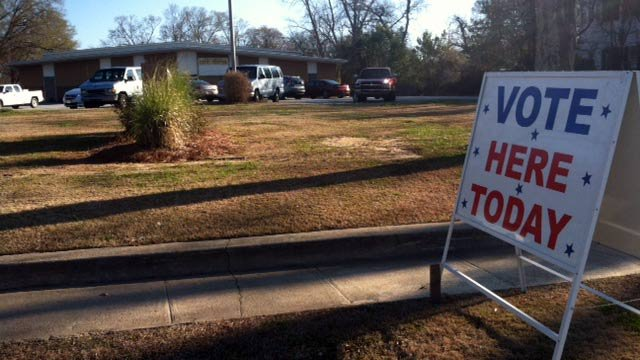 An Abbeville County polling place. (Mar. 26, 2013/FOX Carolina)