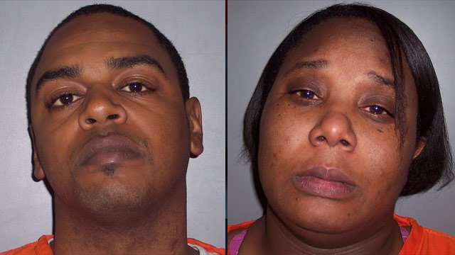 Karyae Williams (left) and Jamicia Calwise. (Source: Laurens Co. Sheriff's Office)