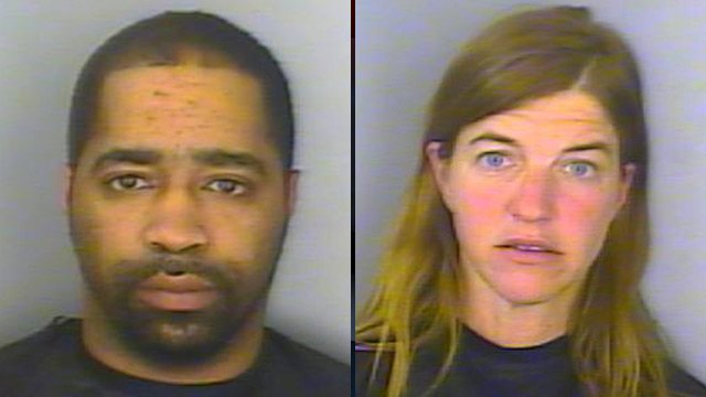 Marvin Holmes II (left) and Rhonda Kelley (Source: Greenwood Police Dept.)