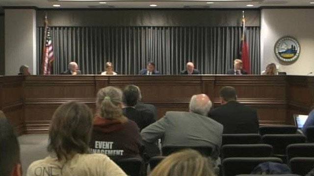 The Buncombe County Commission held the first vote on adding the LBGT community to the county's nondiscrimination policy. (Apr. 2, 2013/FOX Carolina)