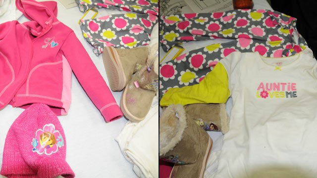 The clothes deputies say the toddler was wearing when she was dropped off at an Anderson home on Tuesday. (Source: Anderson Co. Sheriff's Office)