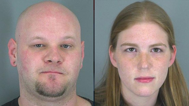 John Hyder and Laura Rogers (Source: Spartanburg Co. Detention Center)