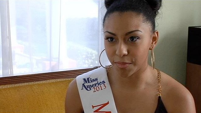 Analousia Valencia is Miss Lyman 2013. (Apr. 5, 2013/FOX Carolina)