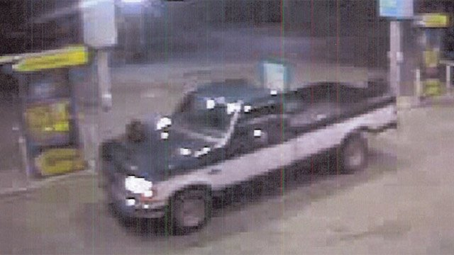 The truck deputies say is connected to the gas pump cash thefts. (Source: Greenville Co. Sheriff's Office)