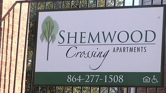 Police say they have been called out numerous times to the Shemwood Crossing apartments on Shemwood Lane. (File/FOX Carolina)