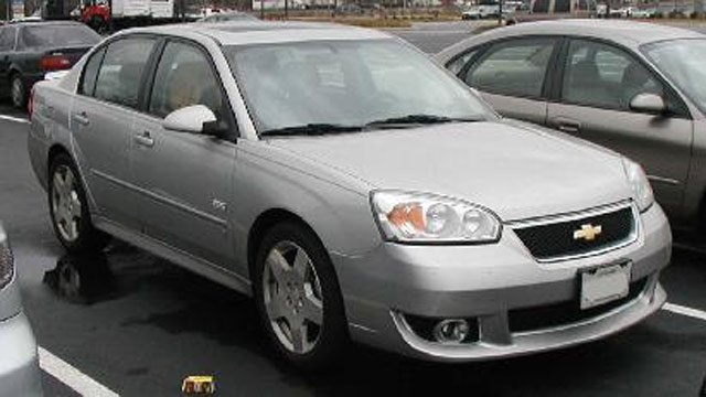 Troopers say this photo of a silver Chevy Malibu is similar to the car they are looking for. (Source: SC Highway Patrol)