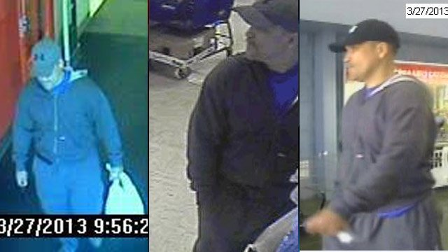 Deputies say this man used a stolen credit card to go shopping at several Spartanburg Co. stores. (Source: Spartanburg Co. Sheriff's Office)