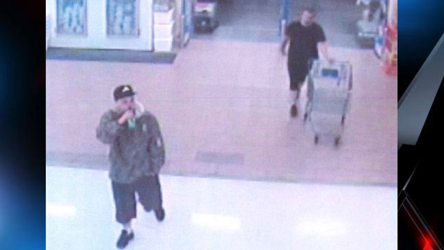 Deputies hope someone recognizes these men they say stole two laptops from the Seneca Walmart. (Apr. 24, 2013/Oconee Co. Sheriff's Office)