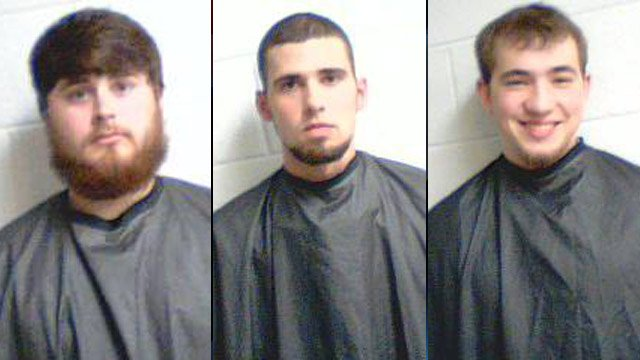 From left to right: Leroy Crooks, Michael McClure and Dylan Smith. (Source: Clemson City Police Dept.)