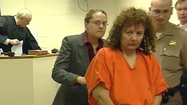 Susan Hendricks appears before an Upstate judge following her arrest. (File/FOX Carolina)