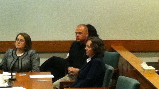 Susan Hendricks appears in court Friday afternoon. (Apr. 26, 2013/FOX Carolina)